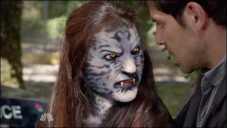 Quel est le Wesen qui ressemble à un tigre bleu au yeux dorés ?