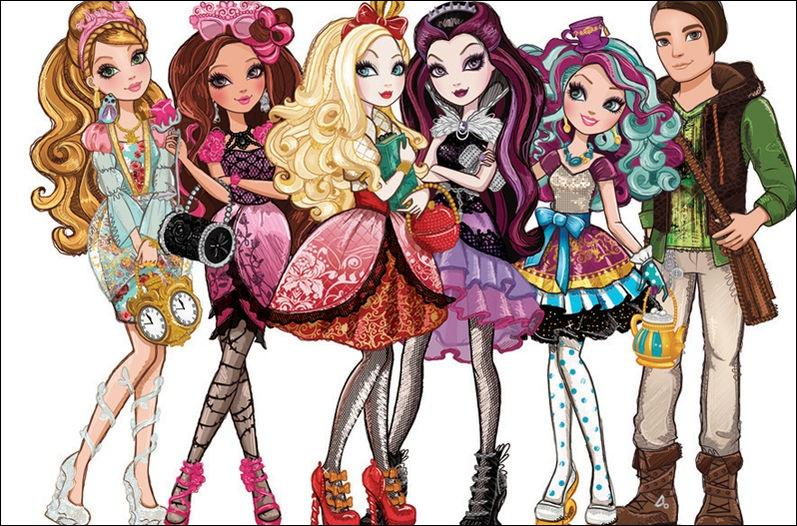 Lors de quel événement Apple White, Raven Queen, Madeline Hatter, Briar Beauty, Cupid, Blondie Locks, Ashlynn Ella et Cedar Wood devront-elles retrouver le livre des légendes ?