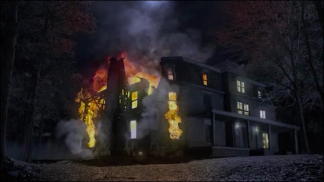 Qui a provoqué le feu à la maison des Hale ?