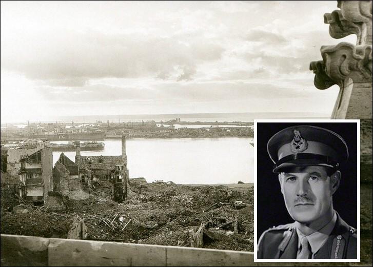 Le 5 septembre 1944 débutait le bombardement allié d'une ville normande, qui fit plus de 2000 morts civils, afin d'en chasser l'occupant nazi. Quelle est cette ville détruite à près de 80% ?