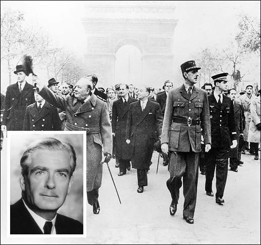 Le 11 novembre, la célébration de l'Armistice de la Première Guerre mondiale peut avoir lieu sur les Champs Elysées pour la 1ere fois depuis la libération. Qui était aux côtés du général de Gaulle et de Churchill dans ce défilé placé sous le signe de l'alliance franco-britannique ?