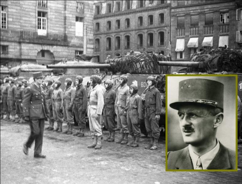 Le 23 novembre, Strasbourg fut libérée de l'occupant nazi par la 2e division blindée du général Leclerc. Ainsi, sera respecté le serment que le général avait fait prêter à ses hommes en 1941...