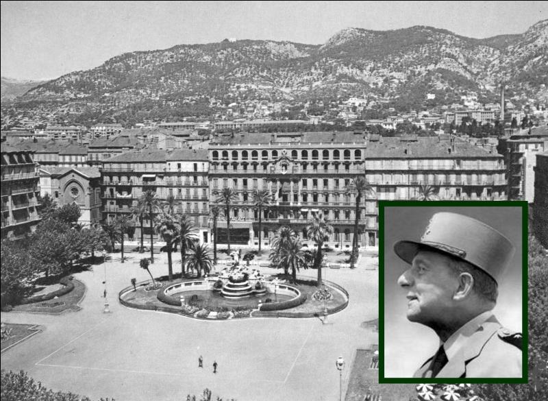 """A la suite du débarquement en Provence, cette ville du Midi fut libérée le 28 août par les troupes de l' """"armée B"""" du général de Lattre de Tassigny..."""