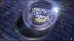 """Qui présente """"Vendredi tout est permis"""" sur TF1 ?"""