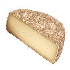 Fromage fait avec du lait de chèvre, c'est...