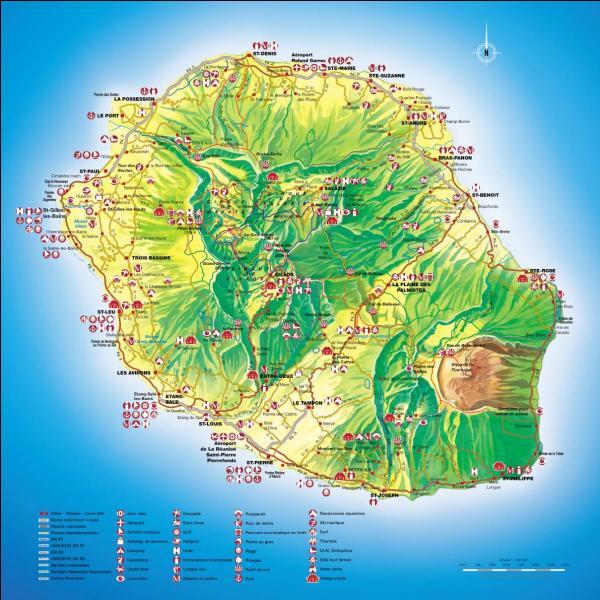 Quel est le numéro du département de La Réunion ?