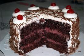 Dans lequel de ces gâteaux n'y a-t-il pas de chocolat ?