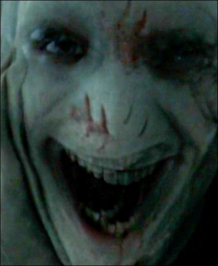 TOP 2 : L'affrontement final Harry/Voldemort (HP 7.2)À quel moment Harry sort-il de sous sa cape et montre à toute la communauté magique qu'il lui faut plus qu'un Avada Kedavra pour le stopper ?