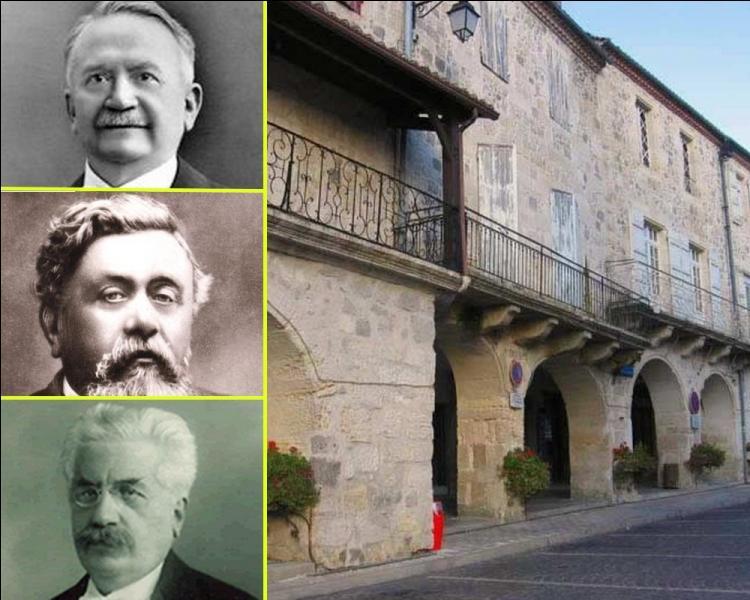 Né à Mezin, ce président de la IIIe République restera profondément attaché à sa terre gasconne. Il y meurt le 22 juin 1931...