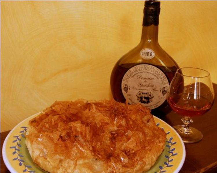 Fameuse pâtisserie de la région, le pastis gascon se confectionne avec des pommes, de l'armagnac et nécessite un fin étirage d'une ...