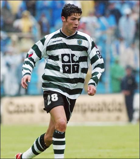 Quel a été son premier numéro de maillot au Sporting Portugal ?