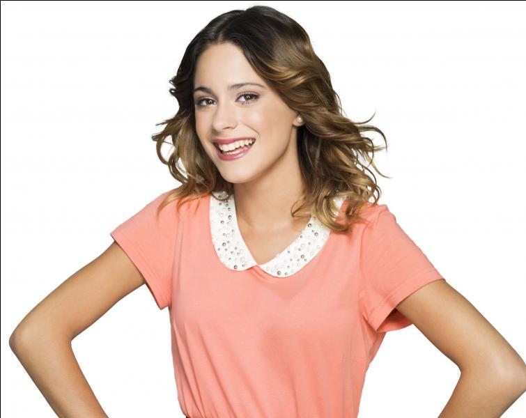 Quel est le nom de famille de Violetta dans la série ?