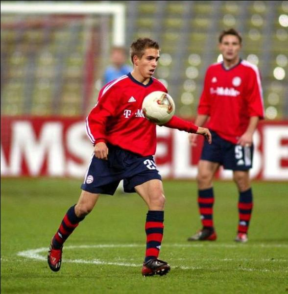 Quel a été son premier numéro de maillot au FC Bayern Munich ?