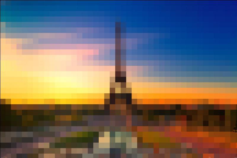 À vous de deviner quel monument célèbre ouvert en 1889 se cache derrière cette image.