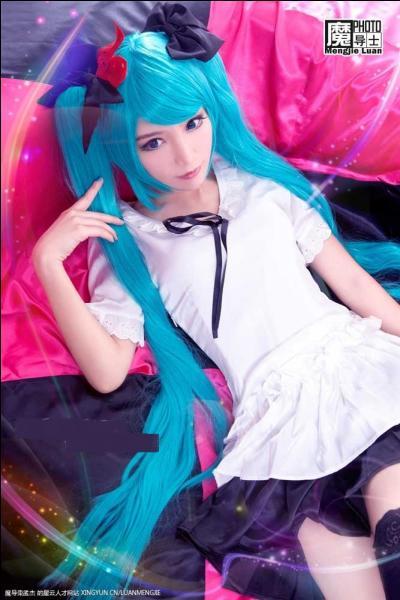 Dans quelle chanson peut-on voir Miku habillée comme ça ?