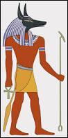 Quel dieu égyptien est représenté avec une tête de chien ?