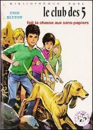 """Comment s'appelle le chien de Claude dans la série de romans policiers """"Le Club des Cinq"""" ?"""