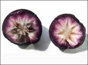 Ce fruit venu des Caraïbes est rafraîchissant.