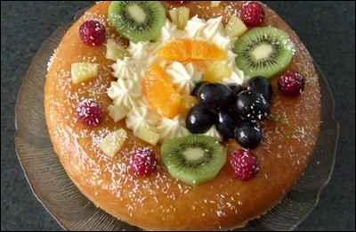Quel fruits sont indispensables à la réalisation du baba au rhum ?