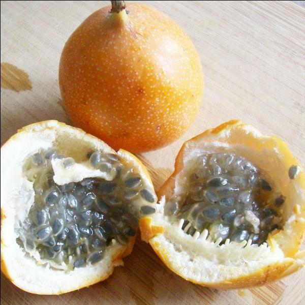 """Quel est ce fruit qui nous est présenté, connu sous le nom de """"fruit de la passion"""" ?"""
