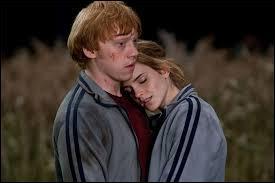 Ron tombe amoureux d'Hermione dans le tome :
