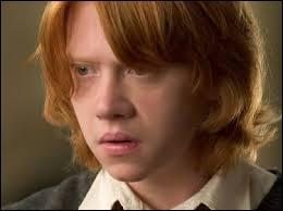 Lorsque Ron sera grand, il sera :