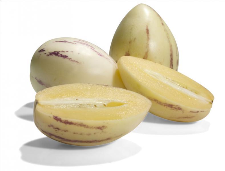 Voici un dessert bien rafraîchissant, c'est un pépino, sous quel nom le connaît-on aussi ?
