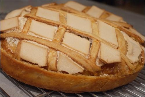 """A base de quels fruits réalise-t-on cette tarte nommée """"conversation"""" ?"""
