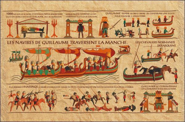 Quand la tapisserie de Bayeux a-t-elle été cousue ?