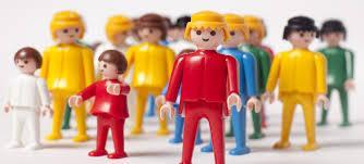 Les Playmobil envahissent les tableaux !