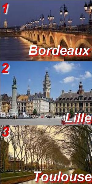 Laquelle de ces trois communes a le plus grand nombre d'habitants ?