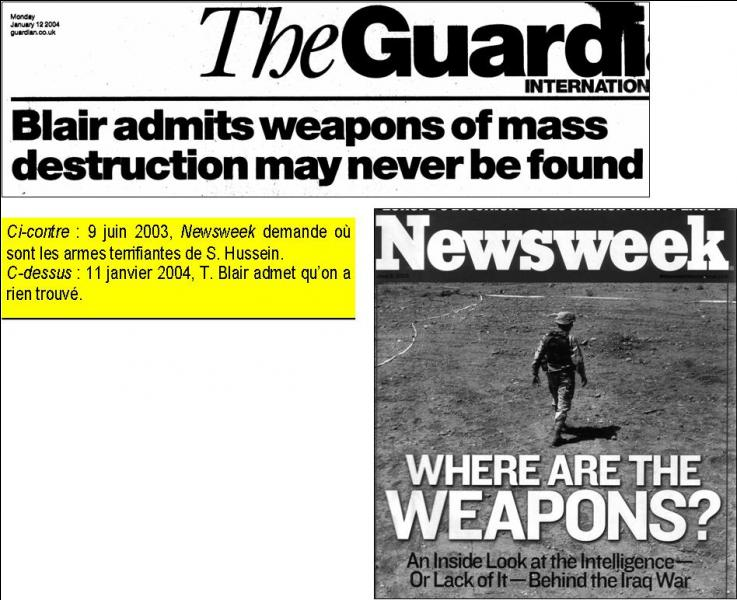 """Une remarque """"désarmante"""" : Je crois que la guerre est très dangereuse !"""