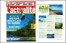 """Géographie - Le Québec compte beaucoup de lacs qui portent un nom bizarre tel que """"Do-Ré-Mi"""", """"Crétin"""", même le lac """"J'en-peux-plus"""" existe là-bas."""