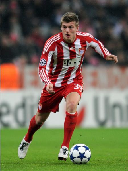 Quel a été son premier numéro de maillot au Bayern Munich ?