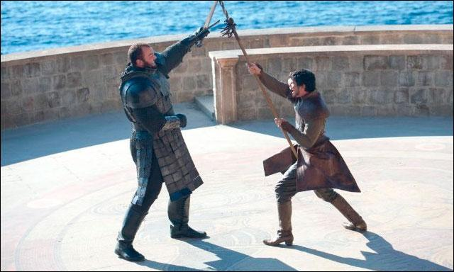 Qui remporta le duel opposant Oberyn Martell à Gregor Clegane ?