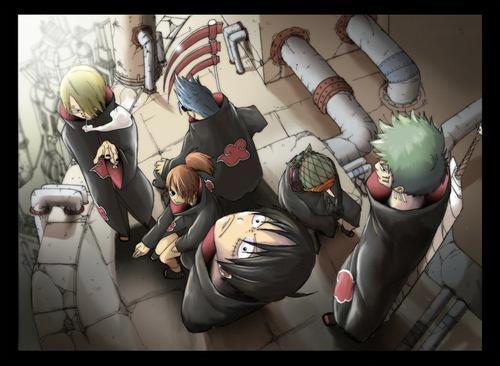 """Voilà ce que ça donne quand des personnages de mangas copient eux-mêmes d'autres personnages de mangas. Ici, il s'agit de la très célèbre série """"Naruto"""". En qui Usopp s'est-il déguisé ?"""
