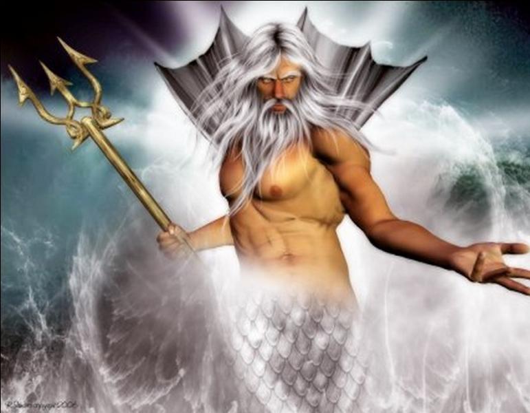 Quel est le dieu grec des eaux et des tremblements de terre ?