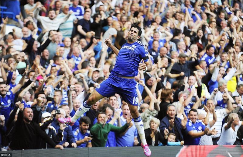 Contre quelle équipe a-t-il inscrit son premier but avec Chelsea ?