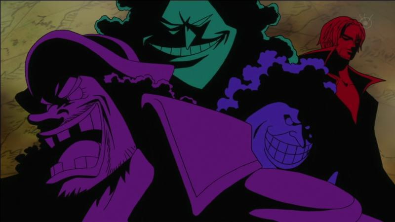 Sanji, Nami, Brook...se sauvent de l'île avec le Sunny mais ils rencontrent l'un des 4 empereurs, lequel ?