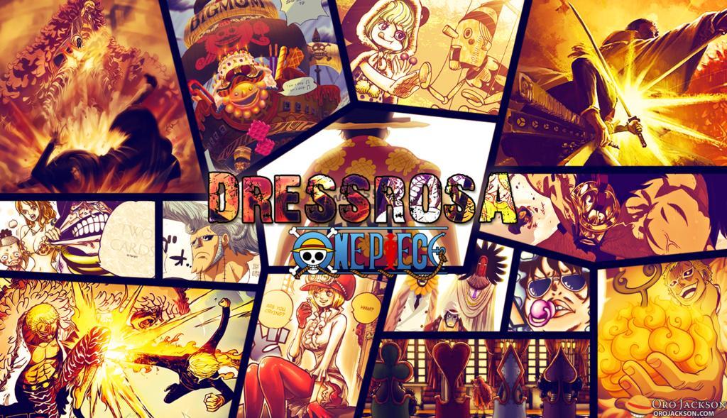 One Piece- Arc Dressrosa : les personnages