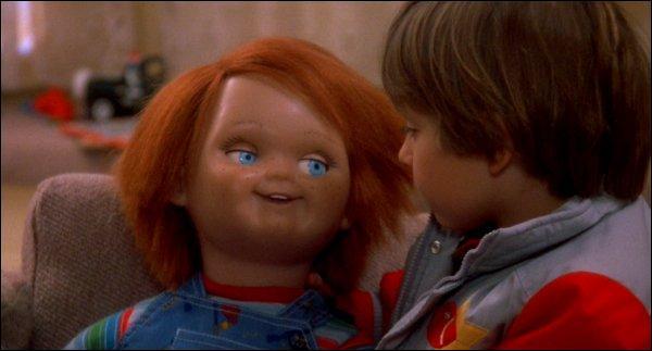 Dans le film Chucky est