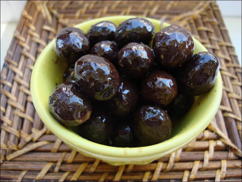 A quelle ville sont associées ces olives ?