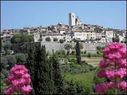Pouvez-vous situer la ville de Saint-Paul-de-Vence ?