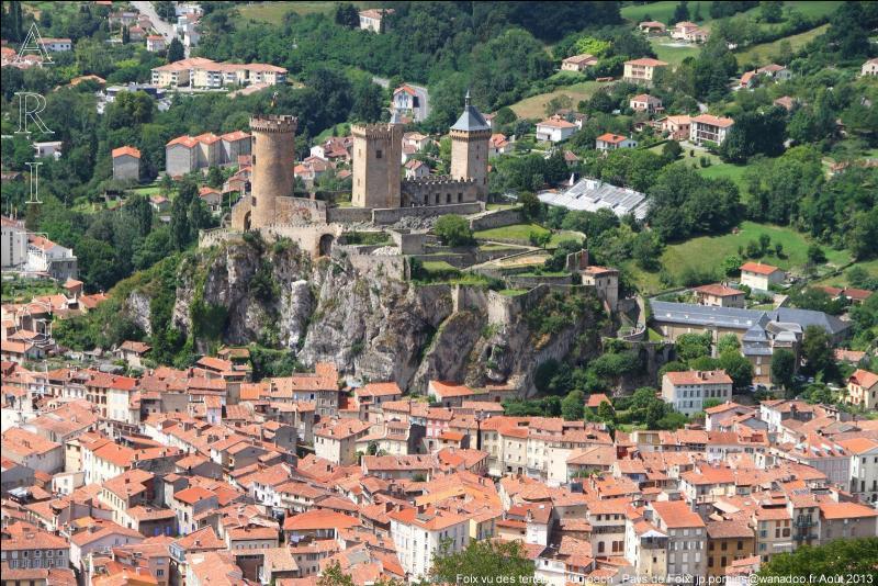 Située aux pied des Pyrénées, Foix est la préfecture de quel département ?