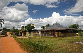 Ville de Cayenne, mon point culminant est la montagne Bellevue de l'inini et je tire mon nom d'un palmier abondant dans la région, je suis à :