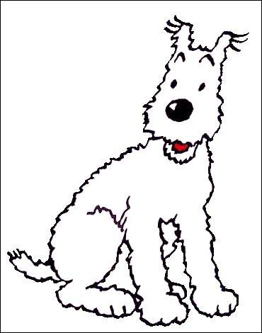 Vous avez reconnu Milou, indissociable compagnon de Tintin, mais savez-vous quel est son nom dans la version anglaise ? Indice parce que c'est la première : 'Flocon'