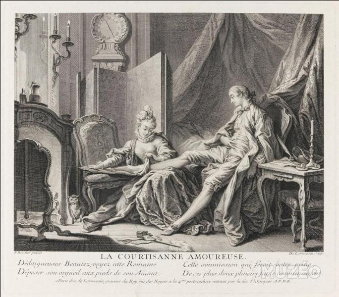 """Les """"Contes et nouvelles en vers"""", recueil de contes libertins, publiés en 1665, sont l'oeuvre de :"""