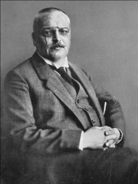 Le 19 décembre 1915, décès d'un médecin psychiatre, neurologue allemand, connu pour sa description de la maladie du même nom !