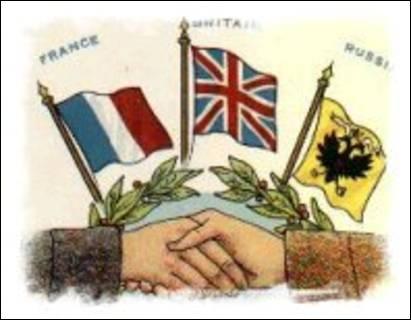 L'Italie signe le traité de Londres et rejoint...