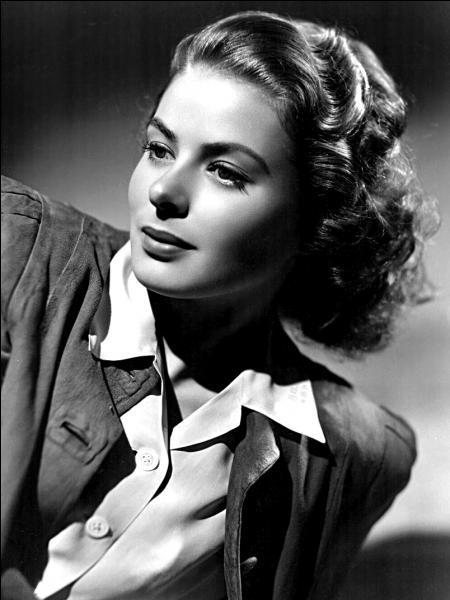 Le 29 août 1915 à Stockholm, naissance de l'actrice suédoise, égérie d'Alfred Hitchcock, ... !